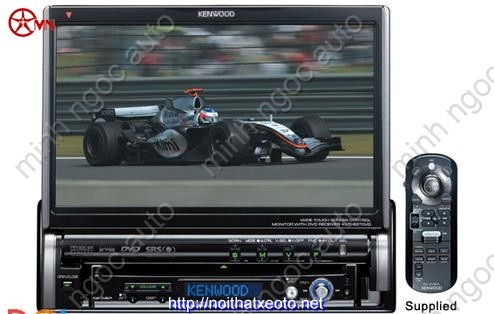 Kenwood KVT- 837DVD