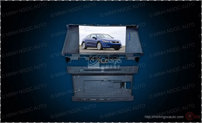 Đầu DVD FUKA 3639 HD For HONDA ACCORD