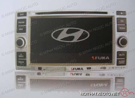 Đầu DVD FUKA K323 For Hyundai Santafe