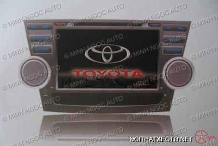 Đầu DVD FUKA K339 For TOYOTA Highlander