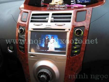 Đầu DVD FUKA CA3125 For YARIS