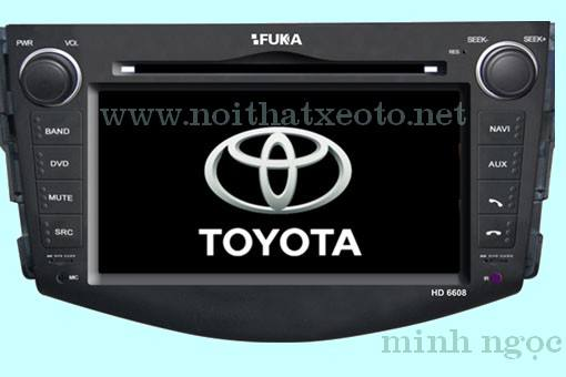 Đầu DVD FUKA HD 6608 For TOYOTA RAV4